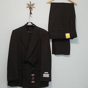 Bonelli Men's Wear Suit Set Size 44L-Pants 39